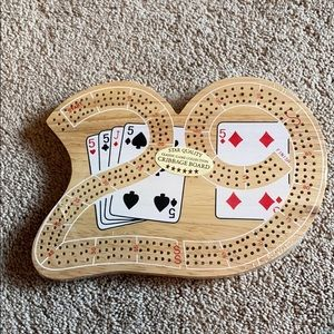BRAND NEW CRIBBAGE BOARD!!!
